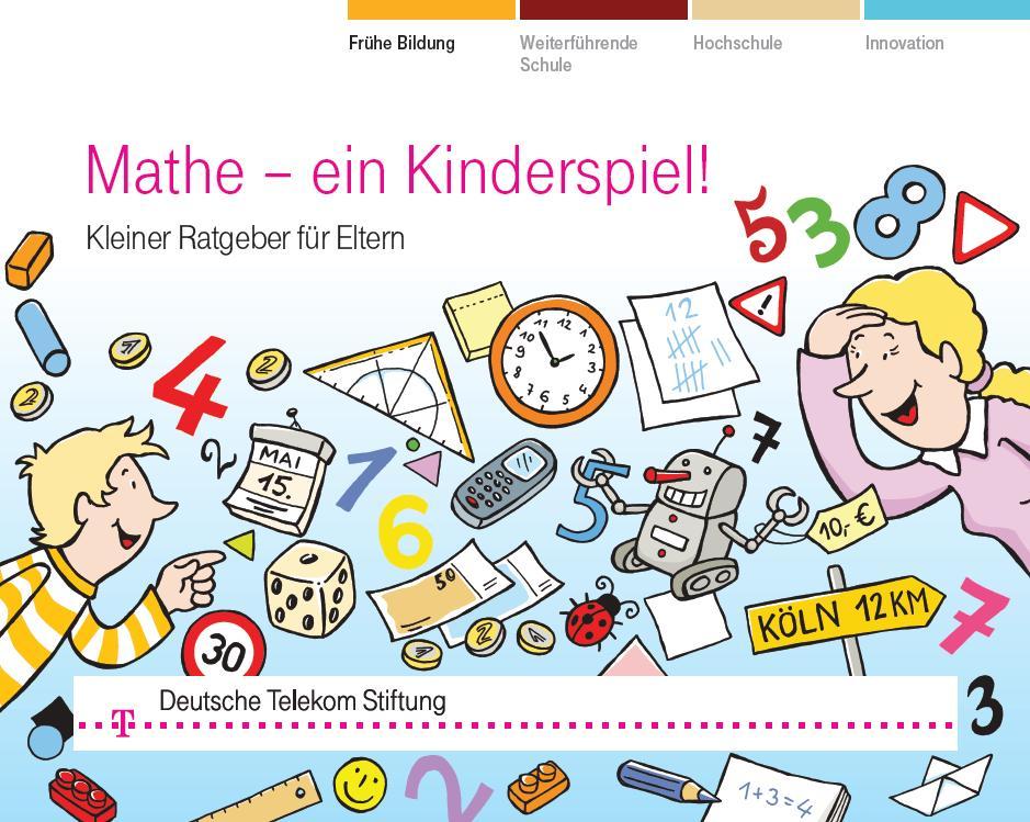 Mathematik, ein Kinderspiel - Ratgeber für Eltern