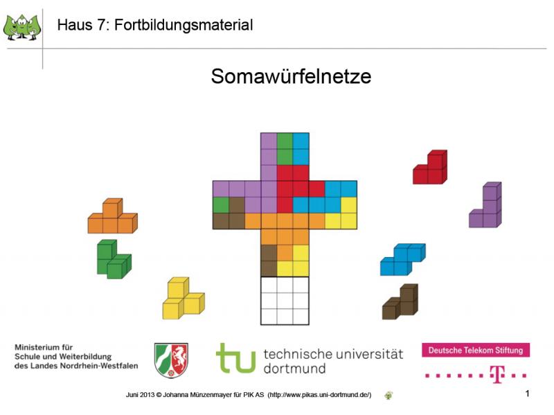 Soma Würfel Anleitung