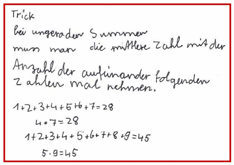 Additionen mit Reihenfolgezahlen | PIKAS